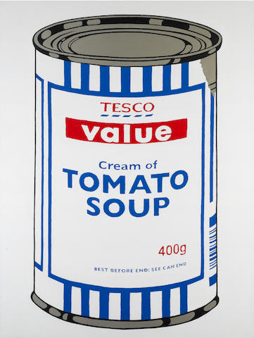 Banksy (British, born 1975) 'Tesco Value Tomato Soup', 2004