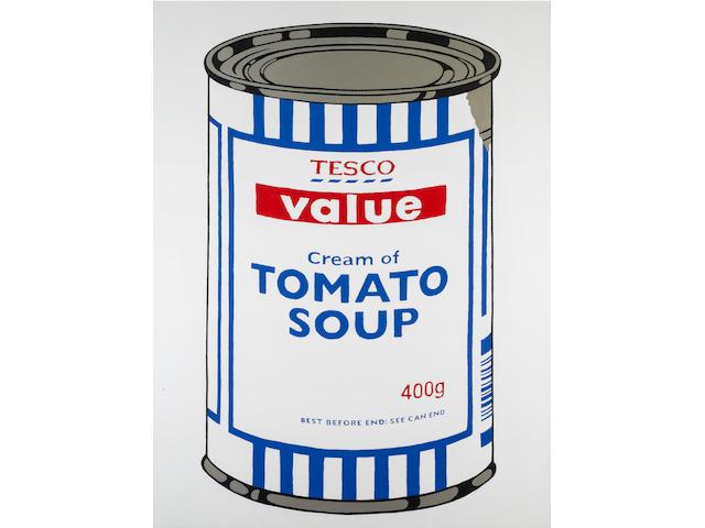 Banksy (British, born 1975) 'Tesco Value Tomato Soup', 2004
