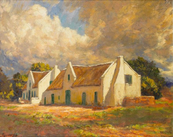 Edward Roworth (South African, 1880-1964) Cape Farmhouse