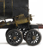 An impoprtant contemporary early 19th century 6in gague model of the 4-2-0 locomotive 'Hercules'  Pr