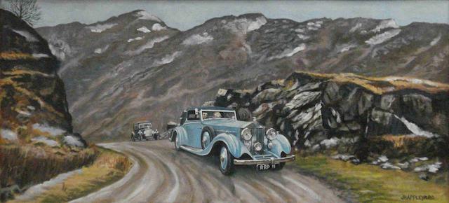 John Appleyard 'Rolls-Royce Continental Tour',
