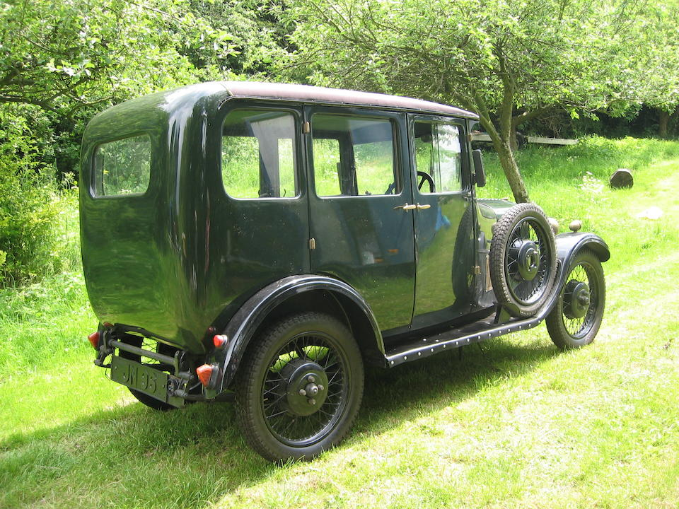 1930 Singer Junior Saloon  Chassis no. 25199 Engine no. 12461