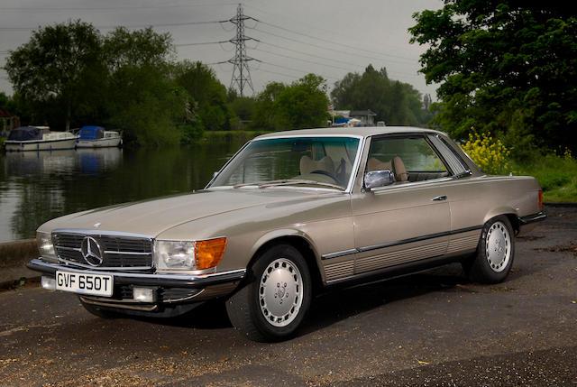 1979 Mercedes-Benz 450SLC Coupé  Chassis no. 10702412025199 Engine no. 11798512038199