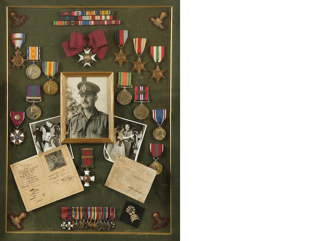 The orders, decorations and medals of Brigadier J.F.B. Coombe, 11th Hussars