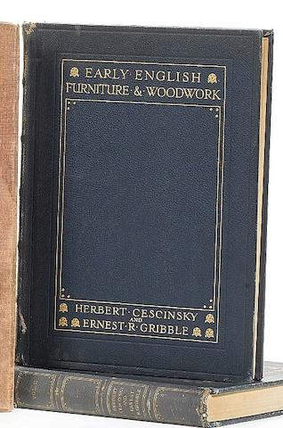 Cescinsky, H & Gribble, E, Early English Furniture & Woodwork