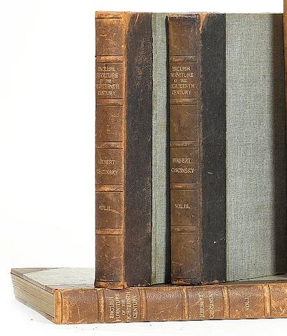 Cescinsky, H, English Furniture of the Eighteenth Century