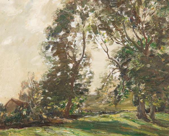"Arthur A. Friedenson (British, 1872-1955) ""June"""