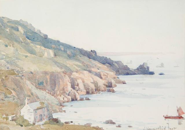 Samuel John Lamorna Birch R.A., R.W.S., R.W.A. (British, 1869-1955) Lamorna Cove, Cornwall