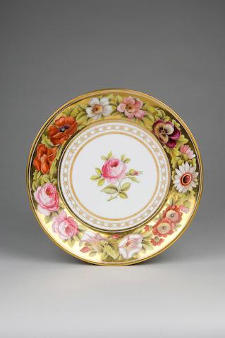 A Swansea plate circa 1815-17