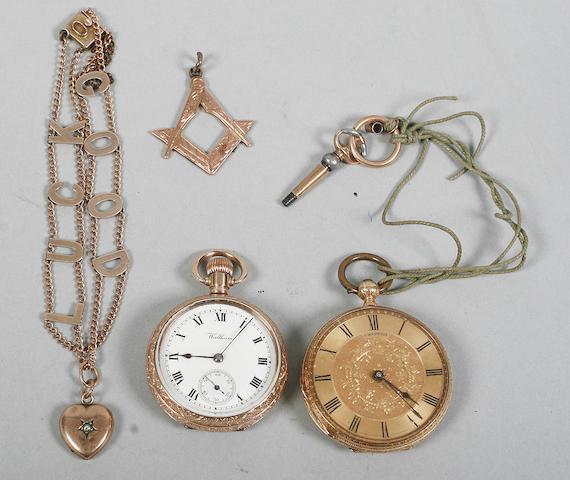 A late Victorian bracelet