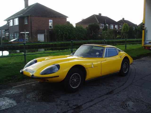 One owner from new,1971 Marcos 3-Litre Coupé  Chassis no. 3V5943 Engine no. 5943
