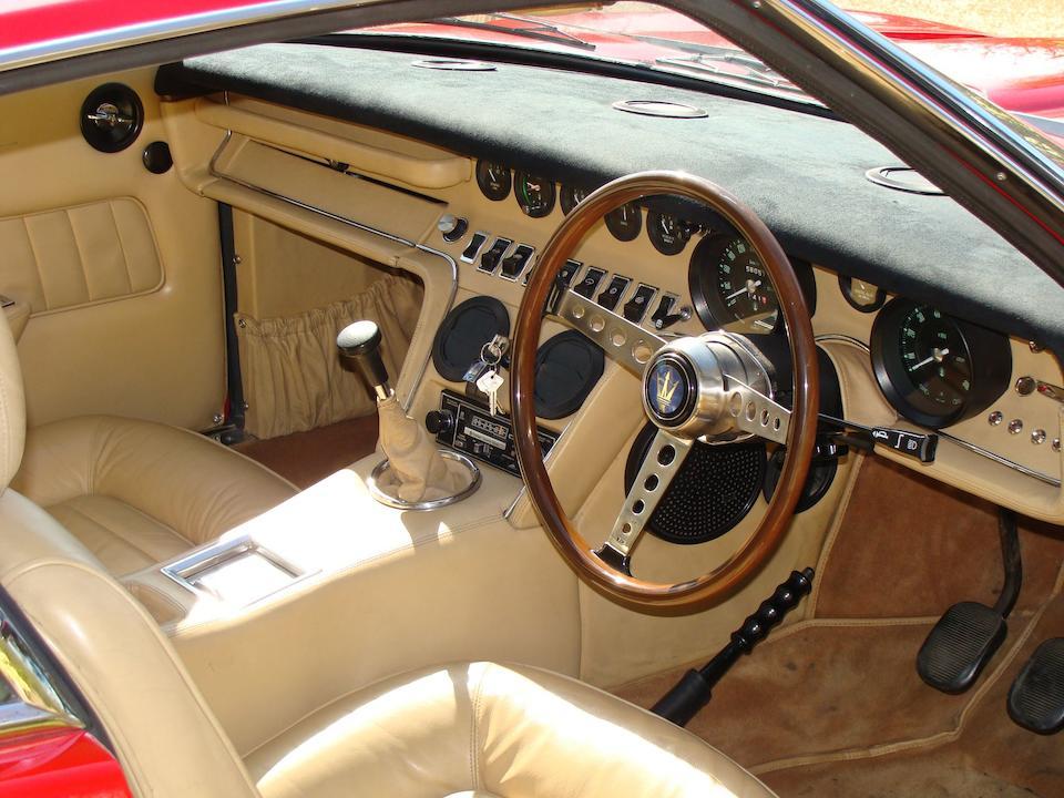 1970 Maserati Ghibli 4.9-Litre SS Coupé  Chassis no. AM115/49 1854