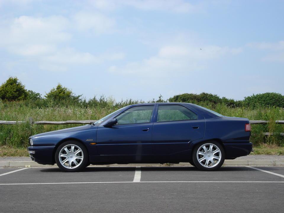 Bonhams : 1997 Maserati Quattroporte IV 3.2-Litre Saloon ...