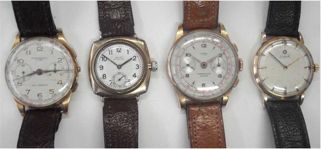 A lot of 4 various wristwatches(4)
