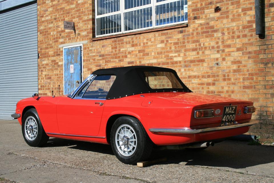 Bonhams : 1967 Maserati Mistral 4000 Spyder Chassis no ...