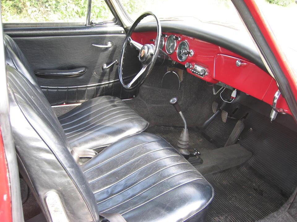 1959 Porsche 356B Coupé  Chassis no. 109800 Engine no. 602699