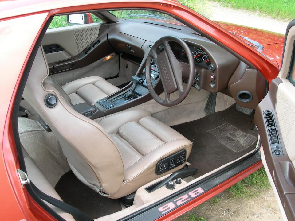1983 Porsche 928S Auto Coupé  Chassis no. WPOZZZ92ZDS840873 Engine no. 82D5520