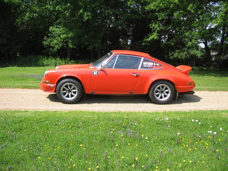 1972 Porsche 911 3.0-Litre Rally Car  Chassis no. 9112500411 Engine no. 63D2191