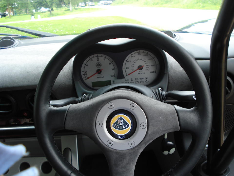 One owner, 3,000 miles from new,2007 Lotus Exige Cup 255 Coupé  Chassis no. SCCVA11157HN82482 Engine no. 2ZZ0182110