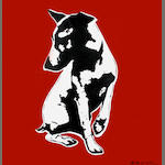 Blek Le Rat (French, born 1952) 'His Master's Voiceless', 2007