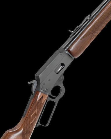 A .44 (Rem Mag) 'Mod.1894S' underlever carbine by Marlin, no. 040080038
