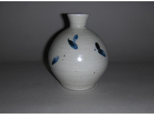William Marshall a small bottle Vase  Height 14cm (5 1/2in.)