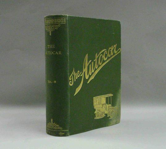 The Autocar; Volume XXX (Jan 1913 to Jun 1913),