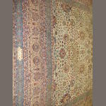 A Kirman carpet 495cm x 375cm
