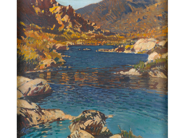 (n/a) Robert Gwelo Goodman (South African, 1871-1939) White river, Bainskloof