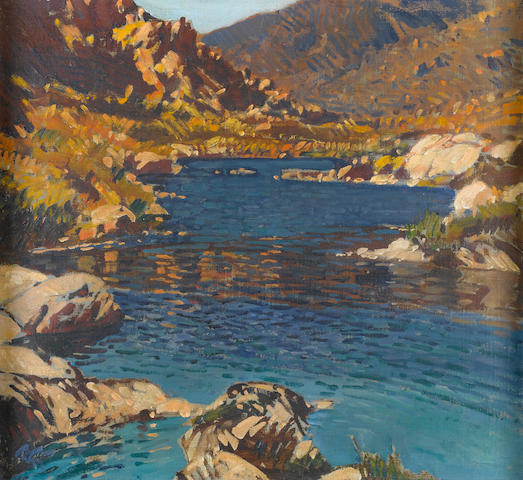 Robert Gwelo Goodman (South African, 1871-1939) White river, Bainskloof
