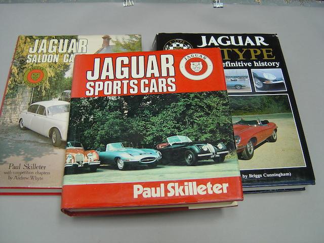Three Jaguar books,