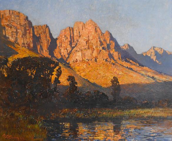 Robert Gwelo Goodman (South African, 1871-1939) The Drakensberg