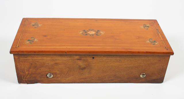A musical box