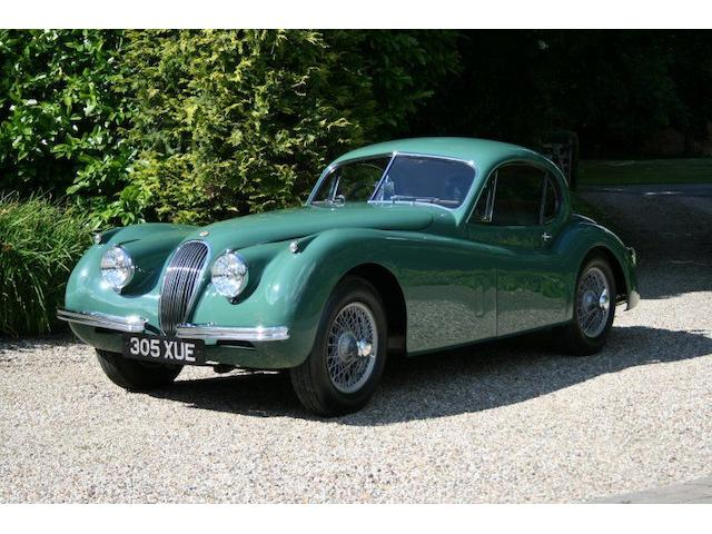 1954 Jaguar XK120SE Coupé  Chassis no. S669195 Engine no. F3215-8S