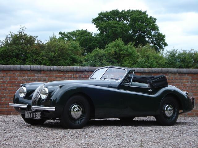 1953 Jaguar XK120 DHC,