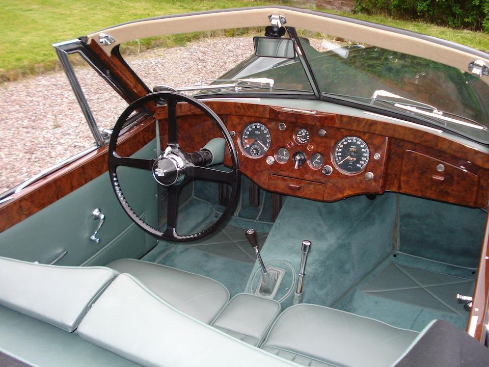 The first left-hand drive,1953 Jaguar XK120 Drophead Coupé  Chassis no. 677001 Engine no. W-7036-8