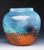 A Monart vase Shape A