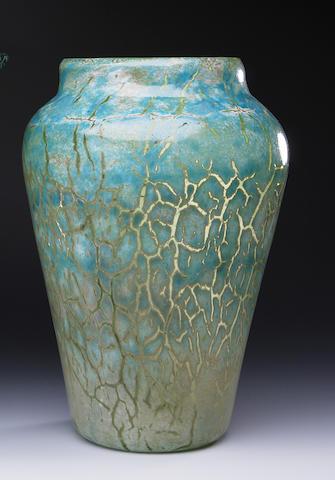 A Monart 'Cloisonne' vase Shape CC