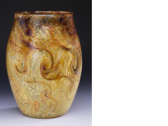 A Monart vase Shape MF