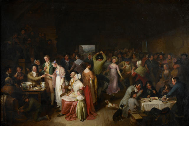 Alexander Carse (British, circa 1770-1843) The Penny Wedding