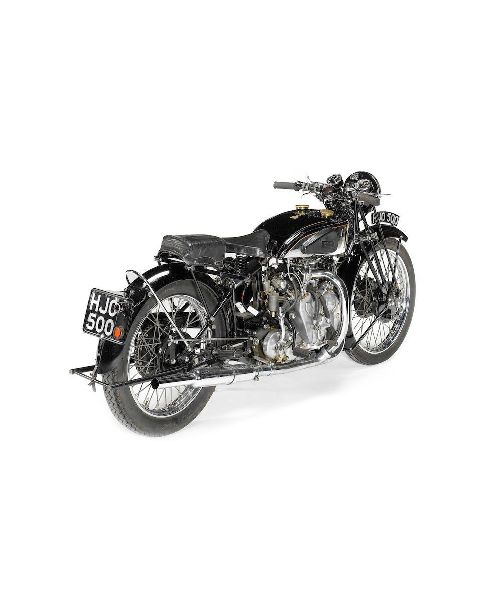 1939 Vincent-HRD 998cc Series-A Rapide  Frame no. DV1753 Engine no. V1070