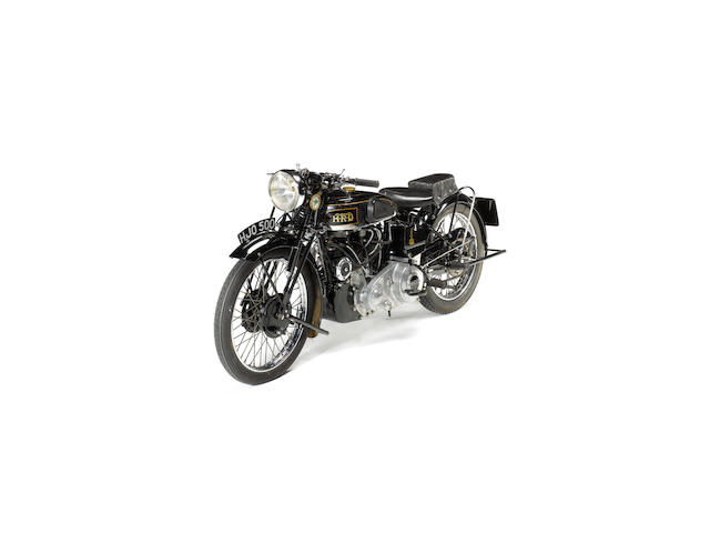 1939 Vincent-HRD 998cc Series-A Rapide  Frame no. DV1753 Engine no. V1070