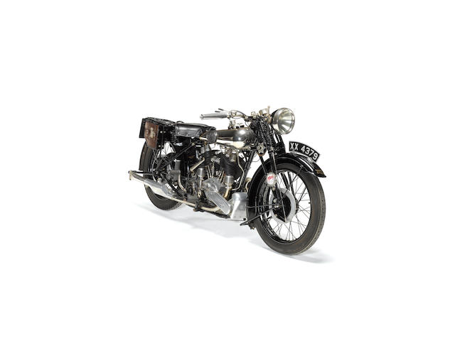 1925 Brough Superior SS80