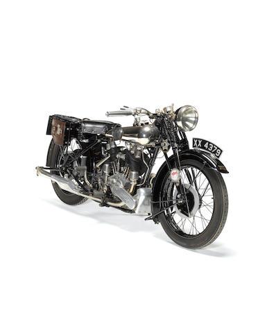 1925 Brough Superior 980cc SS80 De Luxe  Frame no. 267 Engine no. 27285
