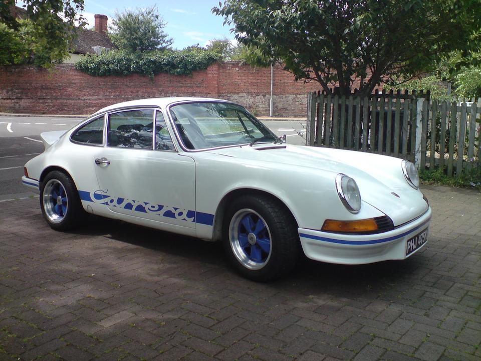 1972 Porsche 911E 2.4-Litre Carrera RS Replica Coupé  Chassis no. 9112501695 Engine no. 6230033