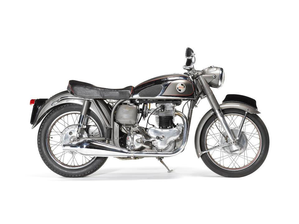 1956 Norton 596cc Dominator 99  Frame no. L14 69066 Engine no. L14 69066