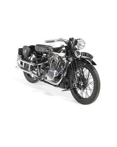 1933 Brough Superior Overhead 680  Frame no. 5/1241 Engine no. GTO/Z 28410/K
