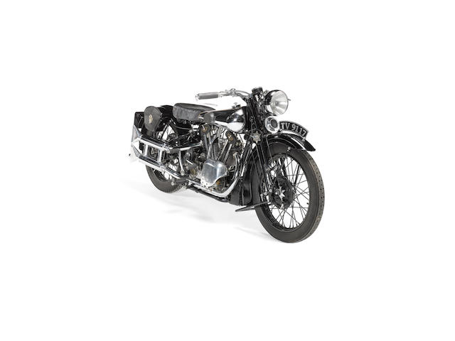 1933 Brough Superior Overhead 680  Frame no. 5/1241 Engine no. GTO/Z 28410/K