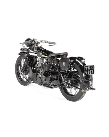 1933 Brough Superior Overhead 680