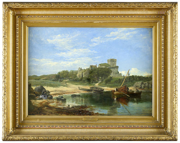 Samuel Bough, RSA (British, 1822-1878) 'Inchcolm Priory'